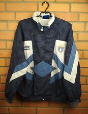 Lazio Jacket Training Rare M Soccer Football Umbro Vintage Retro Full Zip