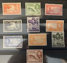 Cayman Islands 116/123 Part Set Cat £19,55 Lmm