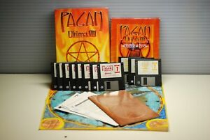 Ultima VIII 8 Pagan Big Box (PC, DOS, 1994) with map & Speech Pack