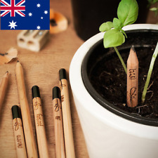 AU! 8 PCS/Set Sprouting Bud Sprout Pencil Plant - Herb Basil Tomato Green Pepper