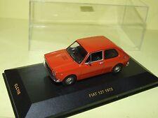 FIAT 127 Orange 1972 IXO CLC116 1:43