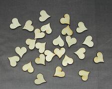 Wooden Hearts Laser Cut Craft Embellishment DIY Decorations Set-2cm x 30pcs.
