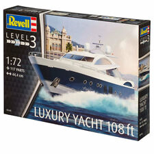 REVELL Sunseeker Predator 108 1:72 Yacht Model Kit 05145