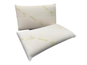 Premium High Density Memory Foam Pillow, with Soft Bamboo Aloe Vera Cover