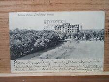 Lindsborg Kan Kansas, Bethany College ,early postcard  1904