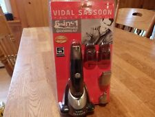 """NEW! """"VIDAL SASSOON""""  MEN'S PROFESSIONAL 5-IN-1 RECHARGEABLE GROOMNG KIT"""