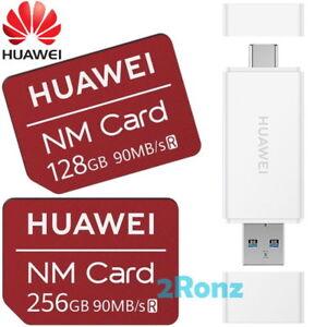 Huawei Original NM Card 256GB / 128GB / 2-in-1 Reader For P30 Mate 20 30 Pro Lot