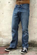 Vaqueros Levis 506 desvaído estilo vintage Denim Azul 80s Red Tab pierna recta W30 L29 Look!!!