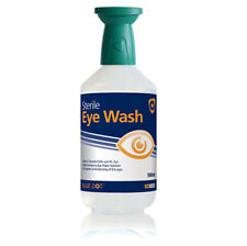 Click Medical First Aid 500ml Eye Wash Solution Bottle Irrigating Cleansing New