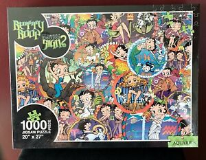 Betty Boop 2008 Aquarius What's Your Sign? 1000 Pc. Puzzle NEW SEALED