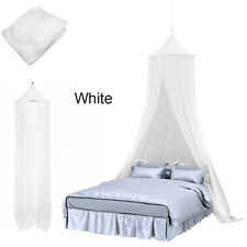 {Upgrade}Mosquito Net White Bed Canopy for Children Insect Stopping Netting Protection Curtain Circle with Lace for Indoor Outdoor Holiday Travel