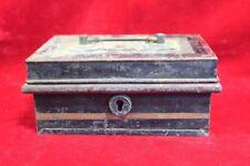 Iron Case Box Old Vintage Antique Home Decor Decorative Collectible PI-18