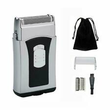 Cordless Electric Foil Shaver Wet and Dry Washable Battery Men Trimmer Razor NEW