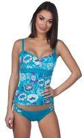 Panache Loren Floral Underwire Tankini Swim Top Swimwear SW0512