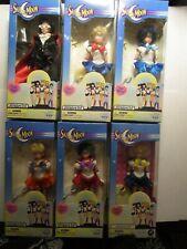 "Lot of 6 Sailor Moon 6"" Adventure Doll Action Figures 1995 Irwin Rare"