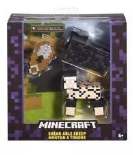 "NEW Mattel 2015 Minecraft Shear-Able Sheep 5"" Figure Mojang Toy Survival Mode"