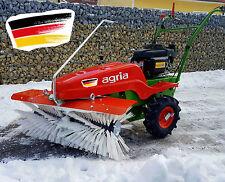 agria Kehrmaschine 7100 Honda Motor Motorbesen ( Schneeschild Schneepflug )