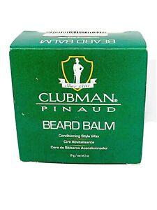 Clubman Pinaud Beard Moustache Balm Conditioning Style Wax 59g Beard styling