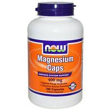 Now Foods Magnesium Kapsel 400 MG 180 Kapseln