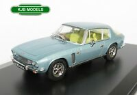BNIB O GAUGE OXFORD 1:43 43JI009 JENSEN INTERCEPTOR MK 1 CRYSTAL BLUE CAR