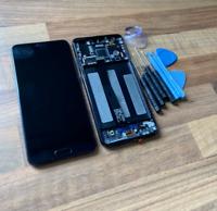 BLACK HUAWEI P20 EML-L09 LCD SCREEN DISPLAY EML-L09C EML-L29 EML-AL00 FRAME