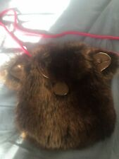 No Added Sugar faux fur bag New