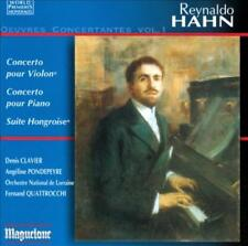 REYNALDO HAHN: OEUVRES CONCERTANTES, VOL. 1 NEW CD