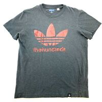 ADIDAS Skateboarding X The Hundreds Mens Size M Grey T-Shirt | RARE