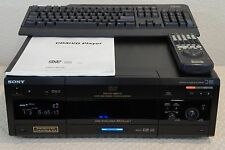 SONY DVP-CX870D 300+1-DISC DVD CHANGER + REMOTE CONTROL AND KEYBOARD AND MANUAL