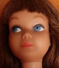 Vintage Barbie Skipper Doll Sable/ Brunette? Straight Legs