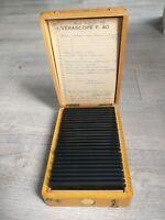 Rare Verascope F 40 stéréoscope 24 vues couleurs voyage en France 1959