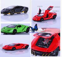 LP770 Alloy Pull Back Model 1:32 Lamborghini Diecast Sound Light Racing Car Toy