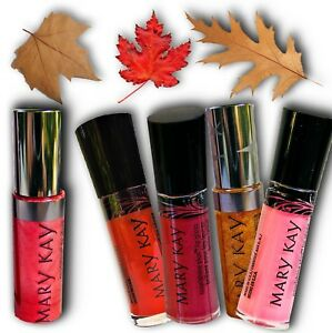 GREAT SELECTION MARY KAY NOURISHINE LIP GLOSS BLACK BOX OR SIGNATURE PACKAGING