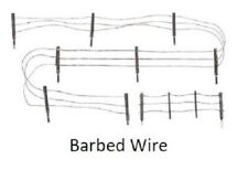 WOODLAND HO Barbed Wire Fence (15pcs) WOO2980-NEW