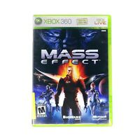 Mass Effect (Microsoft Xbox 360 Game) CIB Complete w/ Manual Tested & Working