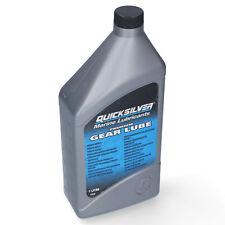 Quicksilver Premium Getriebe Öl Oel 1L Getriebeöl Außenborder 92-858058QB1