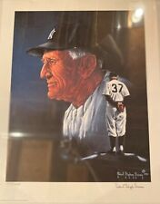Casey Stengel  robert stephen simon SIGNED print 550-1000 RARE on ebay NY Yankee