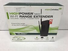 Amped R20000G High Power Wireless-N 600mW Gigabit Dual Band Router ✅NEW ✅WTY