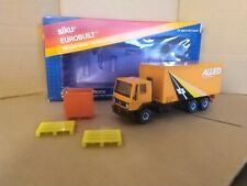 Scarce Siku Eurobuilt 2867 Ford Cargo Box Truck - Allied Movers. 1/55. VGC.