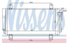 Nissens Condenser, air conditioning fits Mazda 6 2.5 MZR 2.0 MZR-CD