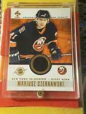 2002 Pacific TC Private Stock Mariusz Czerkawski #62 JERSEY hockey card