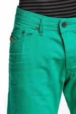 $195 NEW Diesel Jeans Darron in Vivid Green Size W32xL32 Regular Slim-Tapered