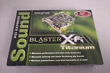 Creative X-Fi Titanium SB 0880 Fatal1ty certified Soundkarte PCI-Express mit OVP