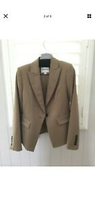 Country Road blazer, Camel color, slim fit, size 10