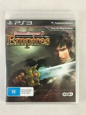 PS3 Dynasty Warriors 7 Empires (2013), Australian PAL, New & Factory Sealed