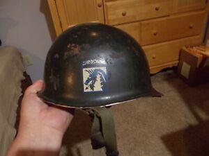 Post WWII paratrooper helmet Post Korea