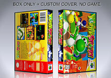 YOSHI'S STORY. NTSC ENGLISH. Box/Case. Nintendo 64. BOX + COVER. (NO GAME).