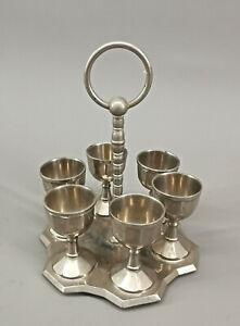 99830337 Eiermenage Um 1920/30 Egg Cup H6, 5cm
