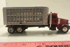 1/64 ERTL farm toy custom peterbilt r livestock straight truck pigs cattle sheep