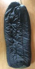 Sleeping Bag US Army Issue Black Intermediate Cold Weather Mummy-Style MSS EXC
